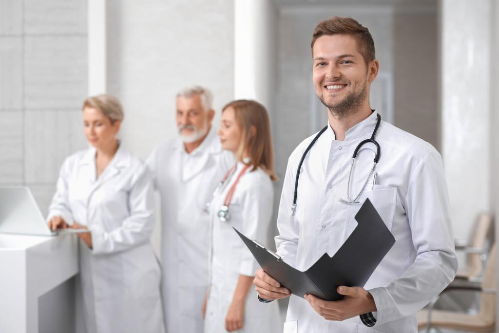 doctor in practice